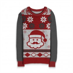 Holiday Sweater Santa