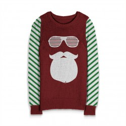 Holiday Sweater Cool Santa