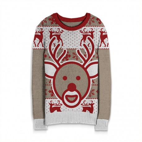 Holiday Sweater Reindeer